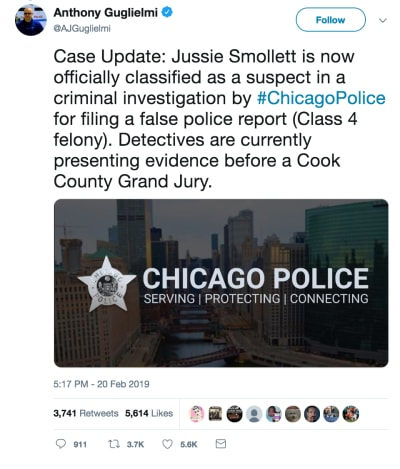 Jussie Smollett: Indicted for Felony, May Face Jail Time