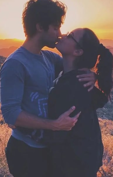 Max Ehrich and Lovato