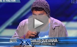 Carlos Guevara on The X Factor