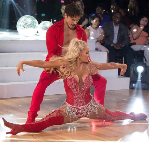 Erika Girardi on Dancing with the Stars