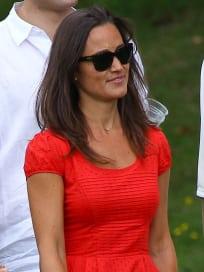 Pippa Middleton, Red Dress