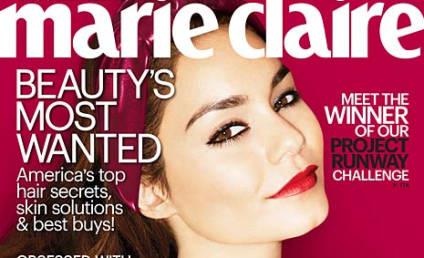 Vanessa Hudgens in Marie Claire: Good Girl Gone Badass!