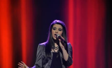 Katie on Stage