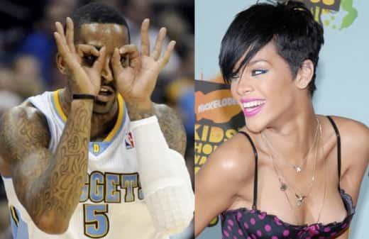 Rihanna and JR