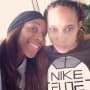 Brittney Griner with Glory Johnson