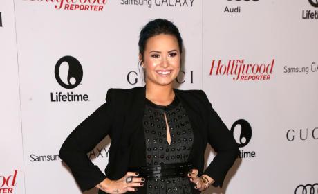 Demi Lovato Smiles