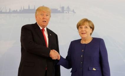 Donald Trump Threw Starburst Candies at Angela Merkel