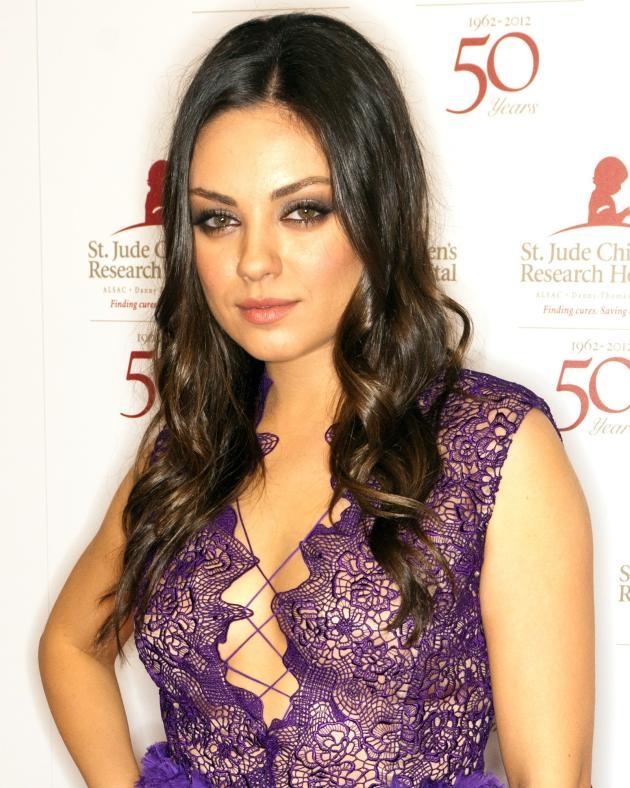 Mila Kunis in Purple