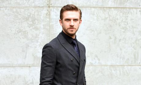 Dan Stevens: Milan Men's Fashion Week Fall/Winter 2016