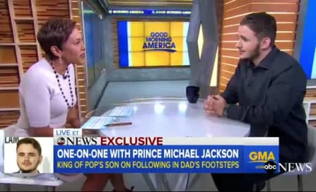 Prince Michael Jackson Gives Rare TV Interview: WATCH!
