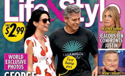Amal Alamuddin and George Clooney: EXPECTING?!?