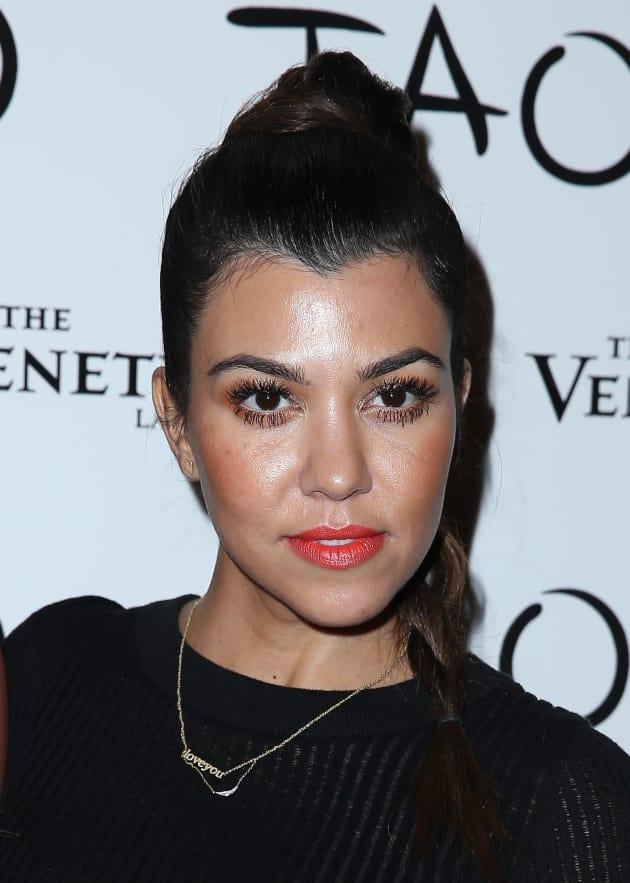 Kourtney Kardashian in Vegas