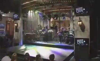 Mark Zuckerberg, Jesse Eisenberg and Andy Samberg Meet on SNL: Watch Now!