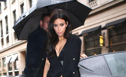 Kim Kardashian: Scared of Rain on Her Wedding Day?
