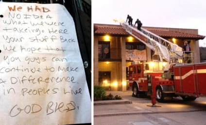 Burglars Steal Computers From Non-Profit, Return Goods With Apology Note