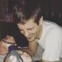 Derick Dillard and Child