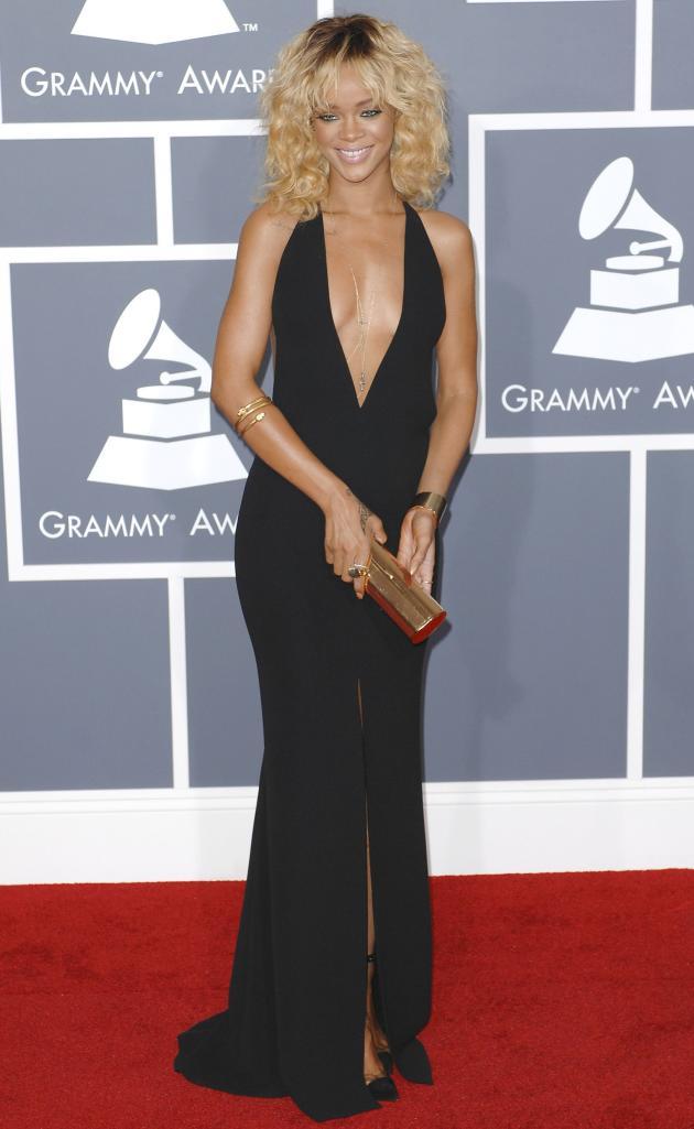Rihanna Grammys Dress