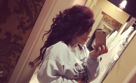 Chelsea Houska 27 weeks pregnant