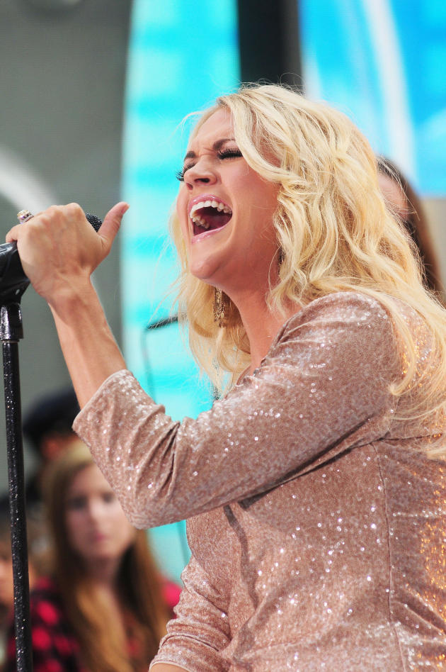 Carrie Underwood in NYC