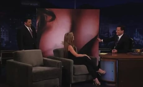 Jennifer Love Hewitt, Boobs on Jimmy Kimmel Live