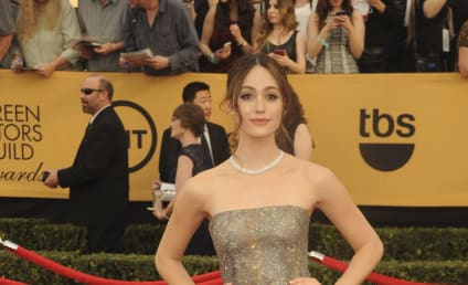 """Emmy Rossum Goes Topless in Esquire, Brags About Dog's """"Big Penis"""""""