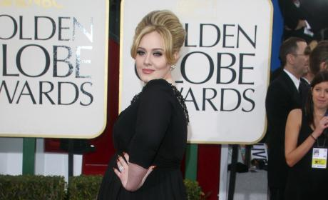 Adele at the Golden Globes