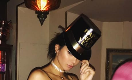 Kendall Jenner New Year's Photo