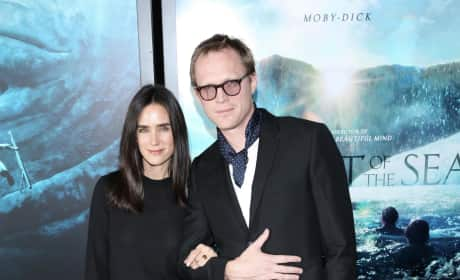 Jennifer Connelly and Paul Bettany: 'In The Heart of the Sea' NY Premiere