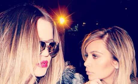 Khloe and Kim