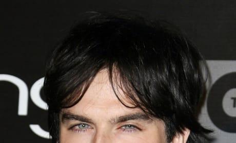 Ian Somerhalder Close-Up