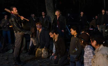 Walking Dead Finale Photo