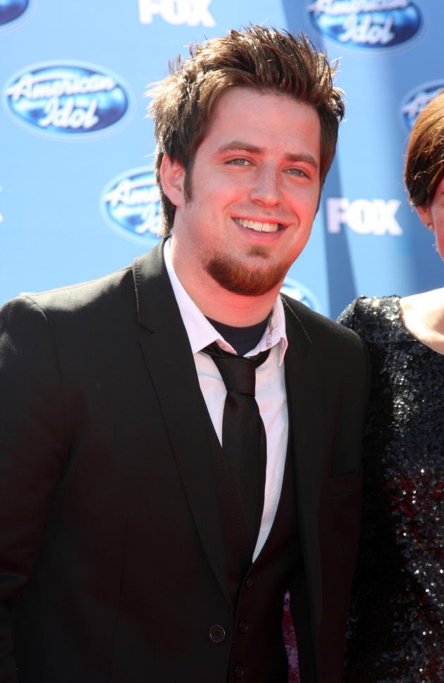 Lee DeWyze at the Finale
