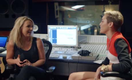 Britney Spears and Miley Cyrus Picture