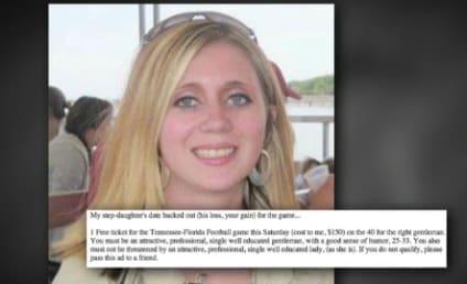 Tennessee Man Offers Free Football Ticket, Date with Stepdaughter to Fans on Craigslist