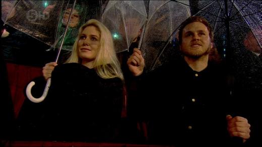 Heidi Montag and Spencer Pratt on Celebrity Big Brother