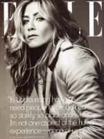 Aniston Elle Cover