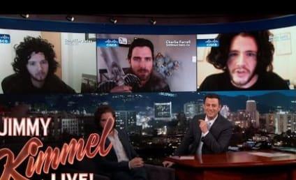 Kit Harington Judges Jon Snow Impressions with Jimmy Kimmel!