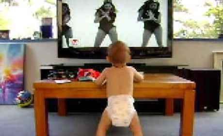 Baby Dances to Single Ladies