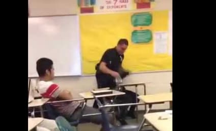 Officer Violently Arrests Student in Classroom, Stars React