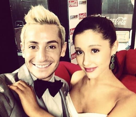 Ariana Grande, Frankie Grande Pic