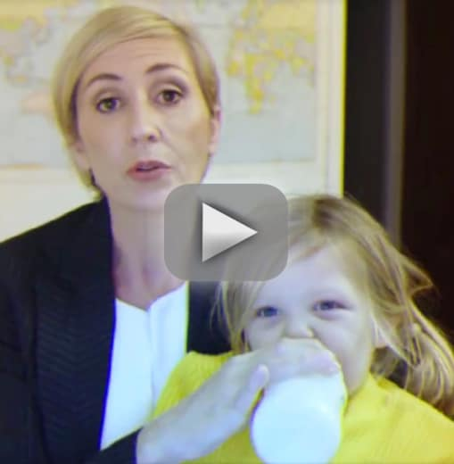 Woman parodies bbc interview shows world how a working mom rolls