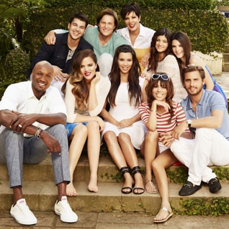Kardashians Family Portrait