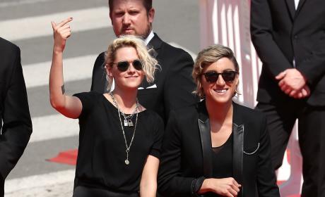 Kristen Stewart With Alicia Cargile!