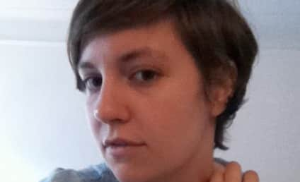 Lena Dunham Mileys $hit Out of Her Hair