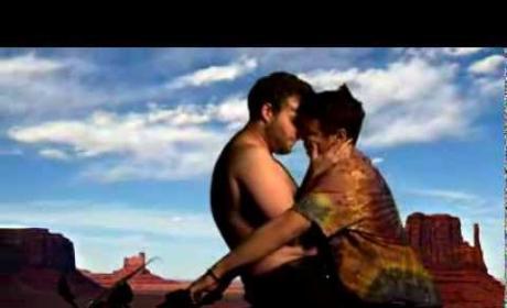"James Franco and Seth Rogen Make Like Kim and Kanye in ""Bound 3"""