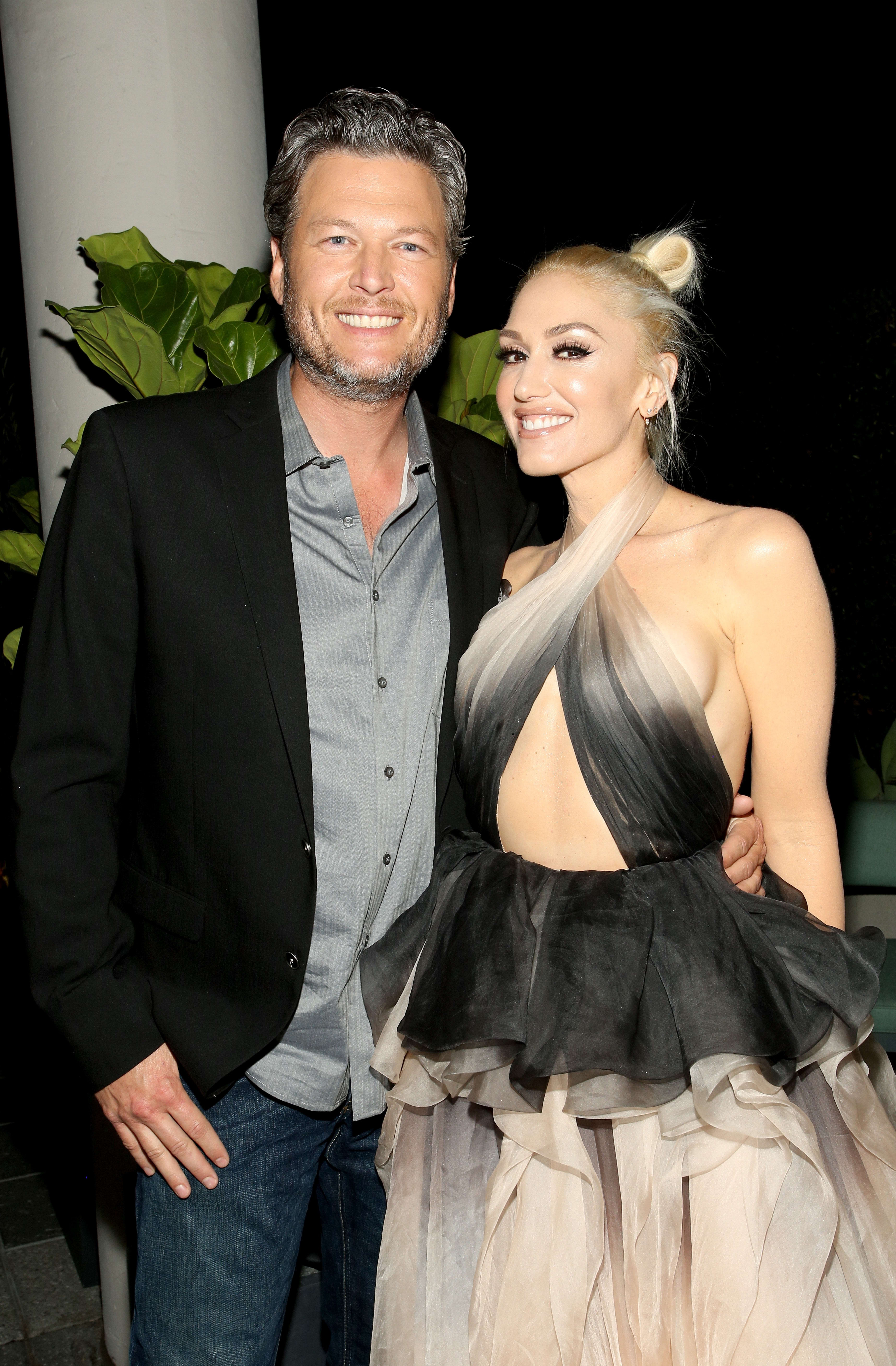 Are blake shelton and gwen stefani married
