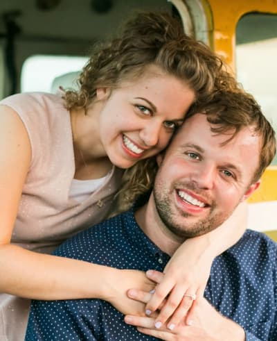 John David Duggar and Abbie Burnett Engagement Pic