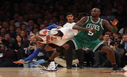 Carmelo Anthony Confronts Kevin Garnett After Rumored Wife Taunt