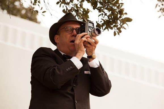 Paul Giamatti as Abraham Zapruder in Parkland