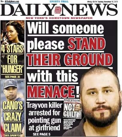 George Zimmerman Cover